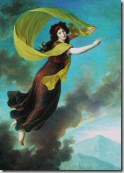 Élisabeth Vigée-Lebrun, Portrét kněžny Karoliny z Lichtenštejna jako Iris, 1793, olej na plátně