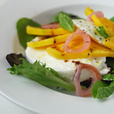 Mango Salad with Mozzarella & Mint