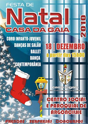 Festa de Natal 2010 - Casa da Gaia