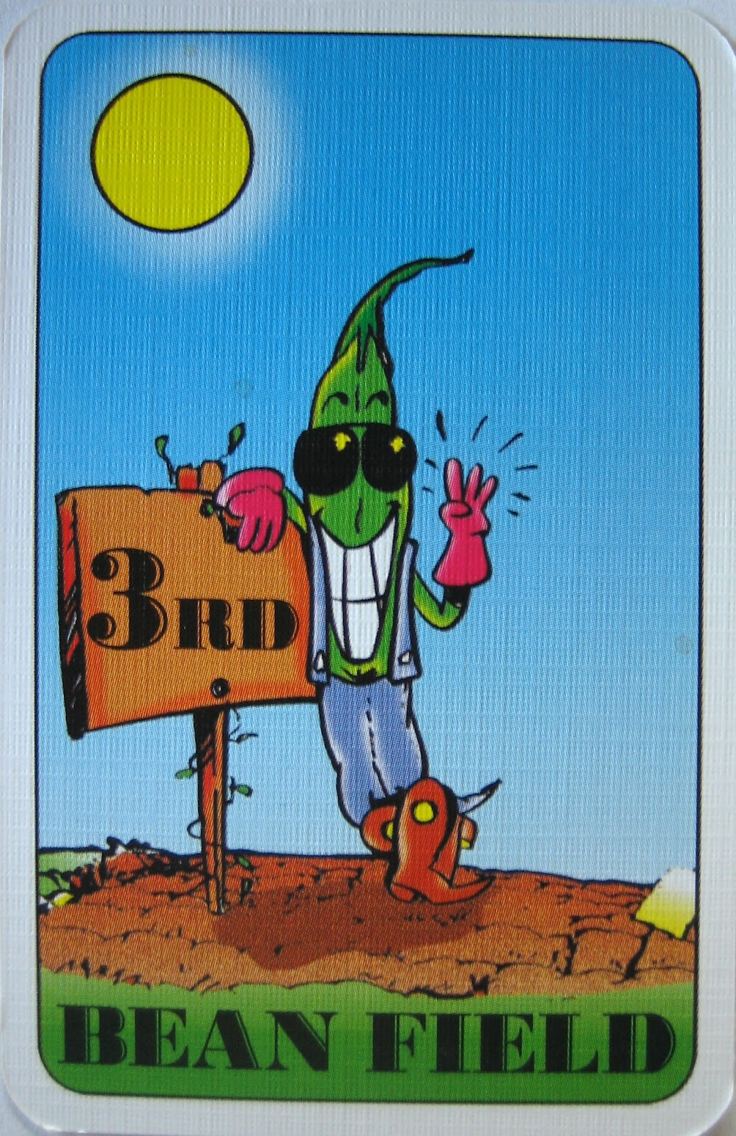 The Card for The 3rd Bean Field