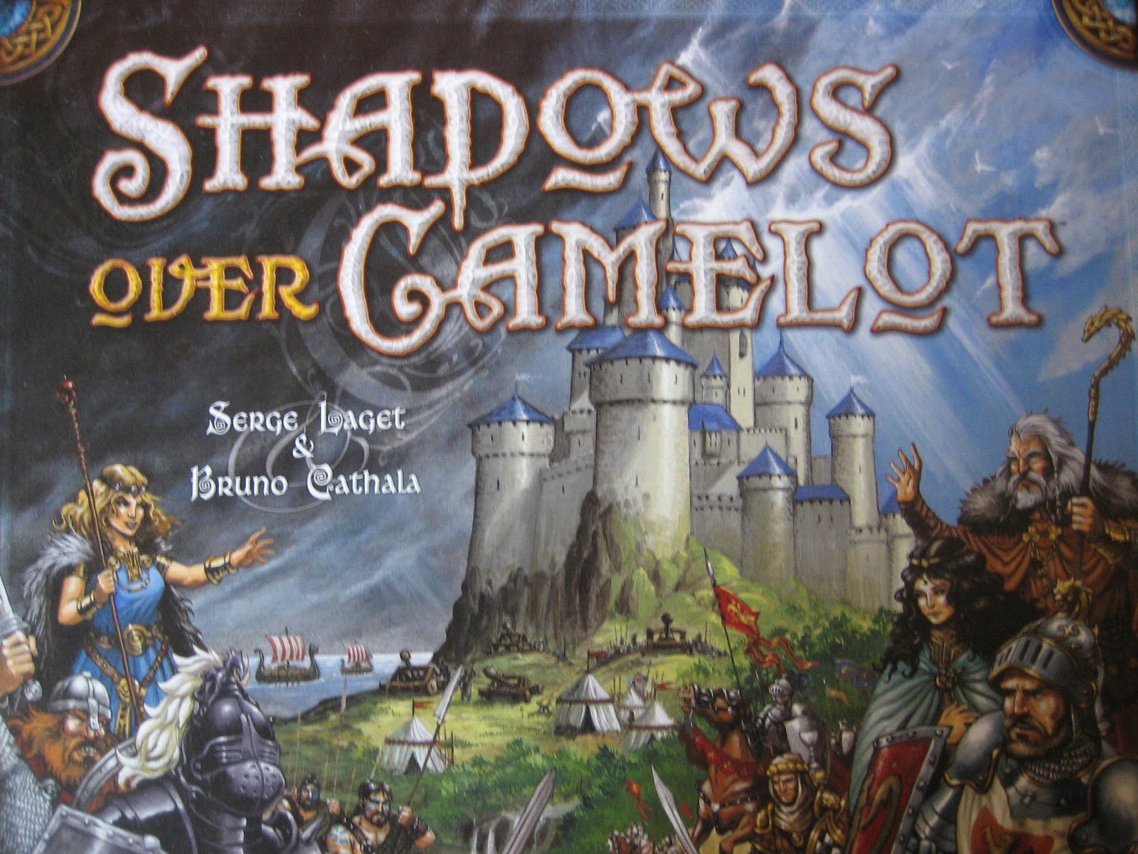 An Image From The Shadows Over Camelot Box