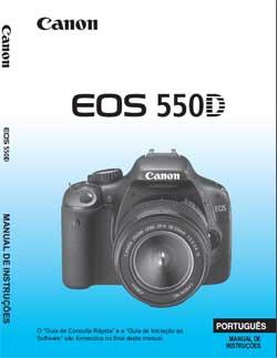Manual Camera Canon T2i Portugues