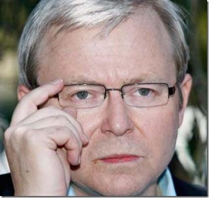 Kevin Rudd  sinister