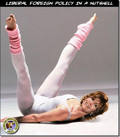 Jane Fonda Liberal Foreign policy