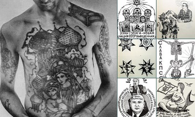 View russian criminal tattoos