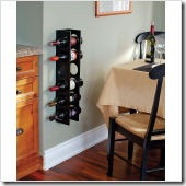 csnSante Vertical Mount Wine Rack in Wenge