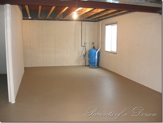 Finishing basement floors diy crafts - Painting basement floor painting finishing and covering ...