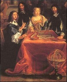 Descartes dando lições de Filosofia à Rainha Cristina da Suécia _i_samtal_med_Sveriges_drottning,_Kristina