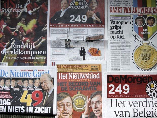 jornais belgas