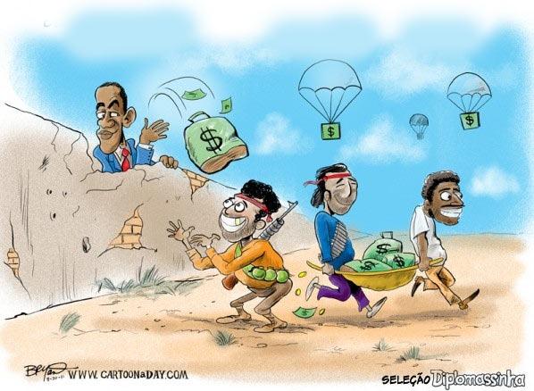 Obama-autoriza-ajuda-secreta-a-rebeldes-libios-charge-selecao-diplomassinha