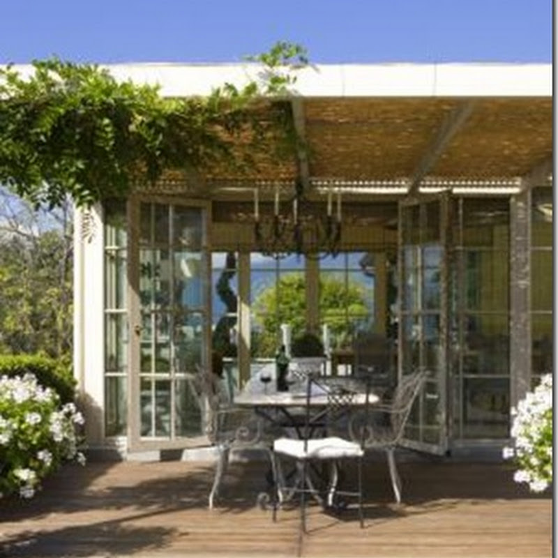 Daydreaming of an orangerie…