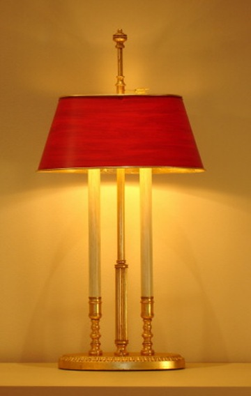 Brigitte bouillotte table lamp
