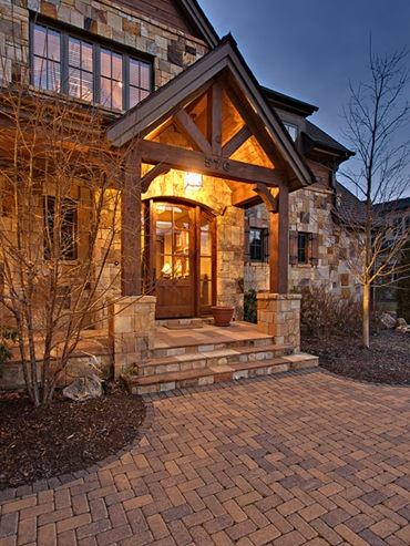 Designing Your Dream Home: Mountain Homes- Front Entry