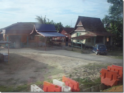 typical kampung house