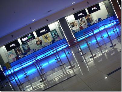 empty cinema at 10am