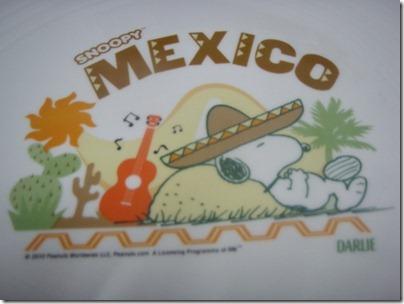 Snoopy X Darlie: Mexico plate