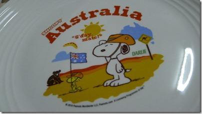Snoopy X Darlie: Australia (plate)
