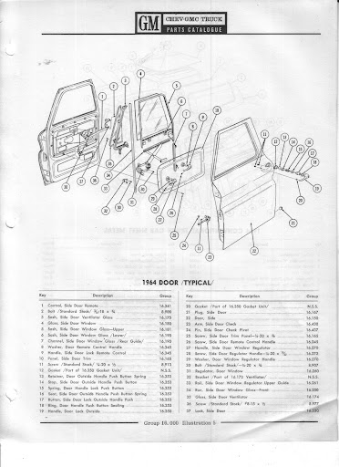 Description et spécifications Chevrolet GMC 1960-1966 Image3