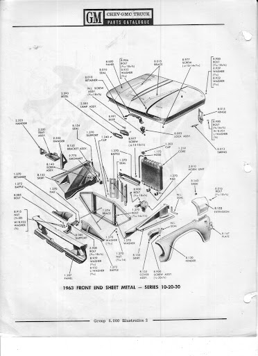Description et spécifications Chevrolet GMC 1960-1966 Image2
