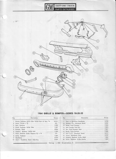 Description et spécifications Chevrolet GMC 1960-1966 Image14
