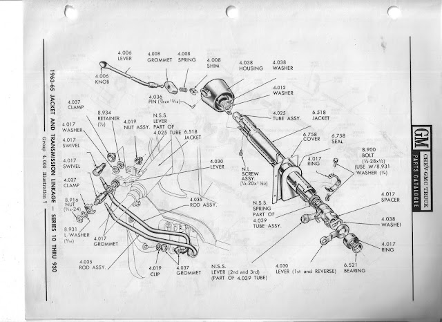 steering column removal - the 1947