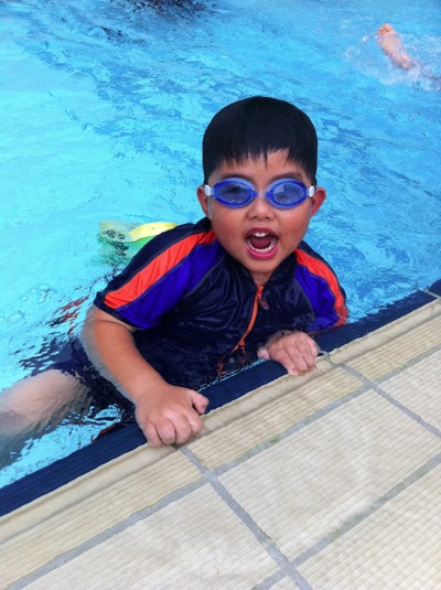 Mini Liew Swimming Lesson Progress Report