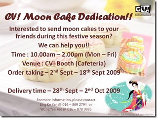 CV! Moon Cake Dedication!!