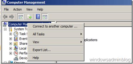 remote computer management