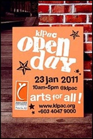 KLPAC Open Day 2011