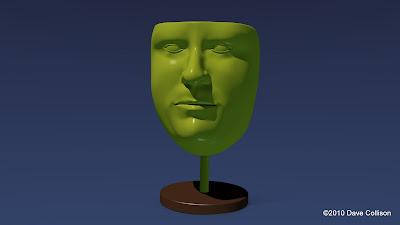 3D Self-Portrait Trophy
