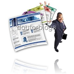 página no modo HTML