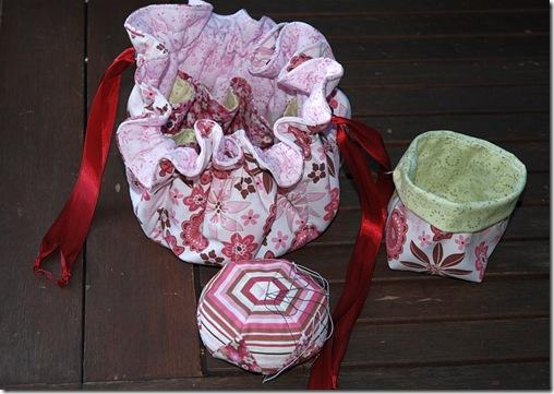 Quilttasche rosa 1