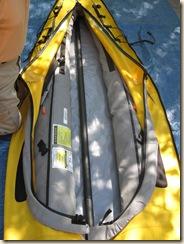 Backbone in Bottom of Kayak