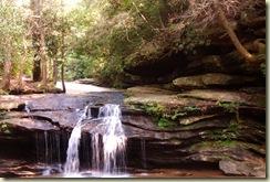waterfall carrick creek
