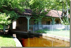 bath house spillway