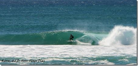 Kirra. Foto: Tiago Dias