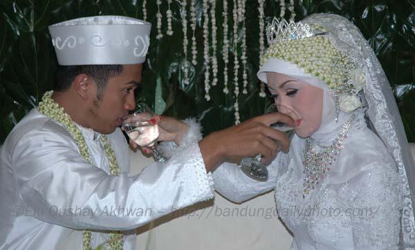 عروس محجبه مالایی مالزی