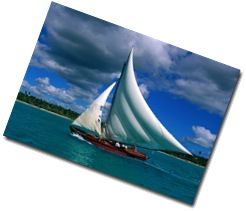 Fishing Sailboat, Bayahibe, La Romana, Dominican Republic