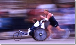 Team Hoyt running