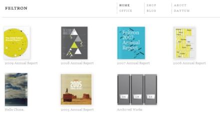 site minimalista