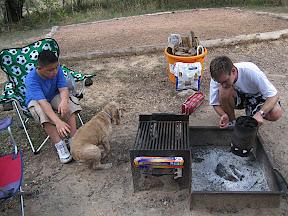Camping at McKinney Falls