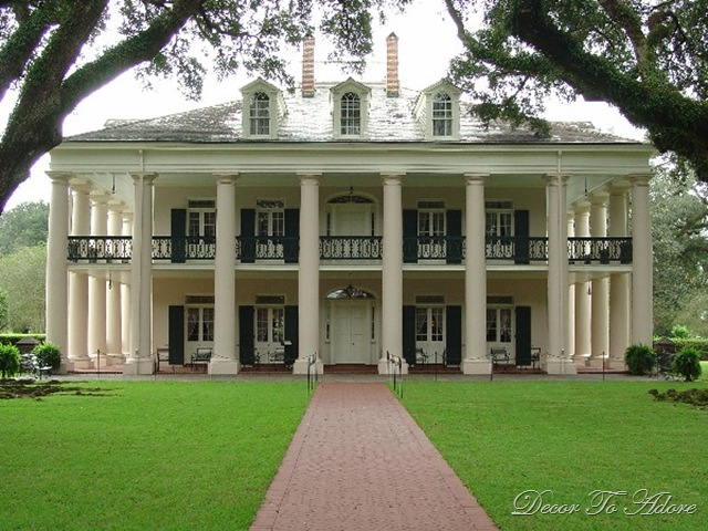 Decor to adore plantation homes - Home style louisiana ...