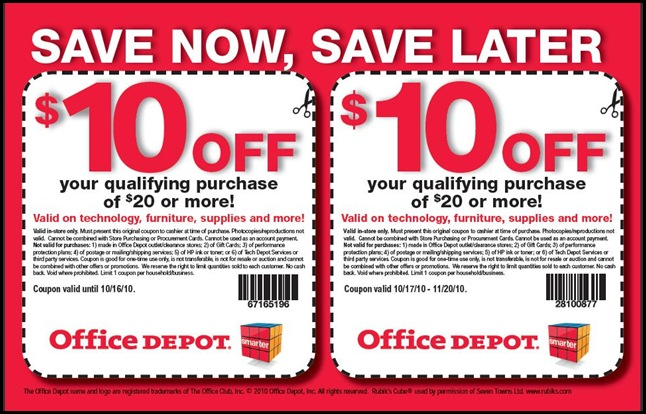 Easy coupons to clip online awesome deals at office depot - Office depot discount code ...