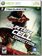 Splinter Cell Conviction Boxart