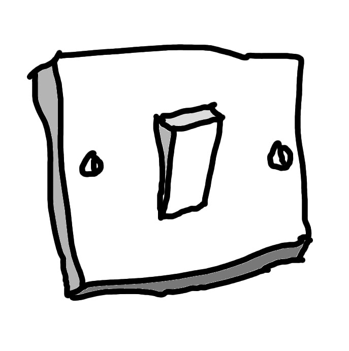 Light Switch Off Drawing. Great The Flexible Setting Is Available In ...