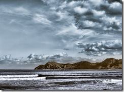 Playa de Muro, en HDR.