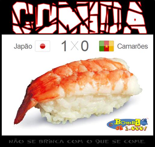 Japão x Camarões