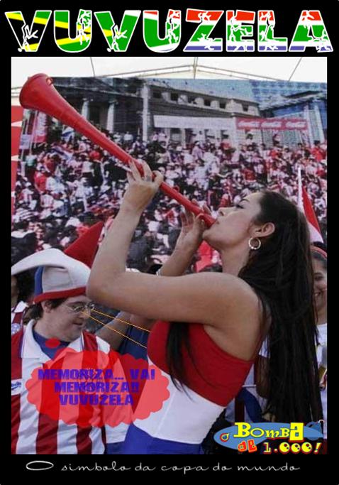 Larissa Riquelme Vuvuzela