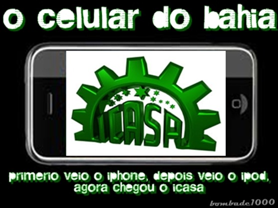 Celular do Bahia