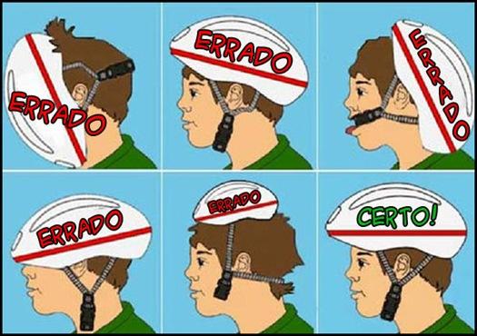 Como usar o cacapacete